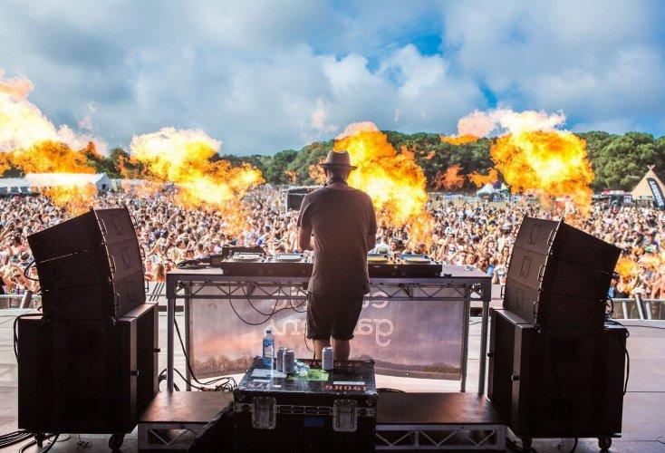 Pyrotechnics Flame Robbie Lowe Pyro