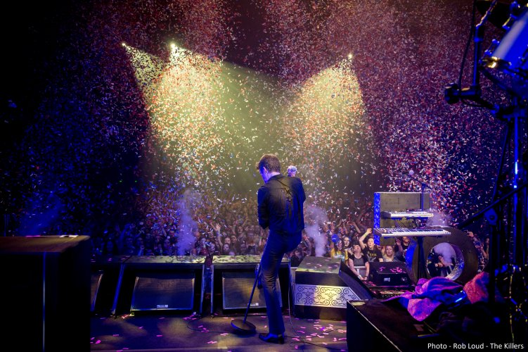 Confetti The Killers Brandon Cannons