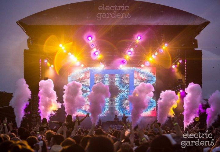 CO2 Jet Electric Gardens Festival Cryo