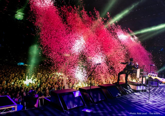 Confetti Cannons The Killers