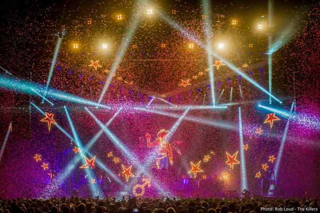 Confetti The Killers Arena