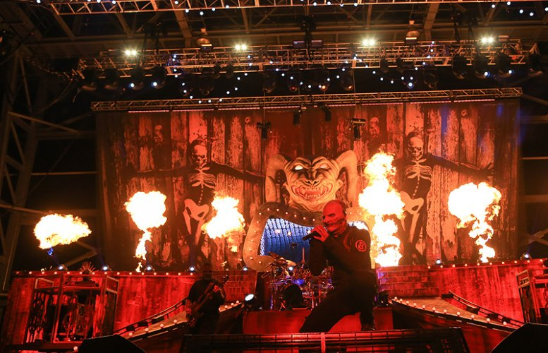 Pyrotechnics Flame Slipknot Pyro