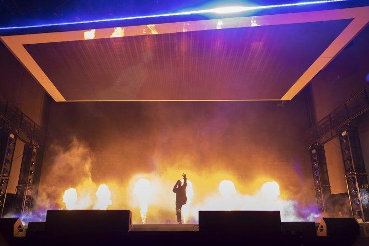 Pyrotechnics Flame Kendrick Lamar Pyro