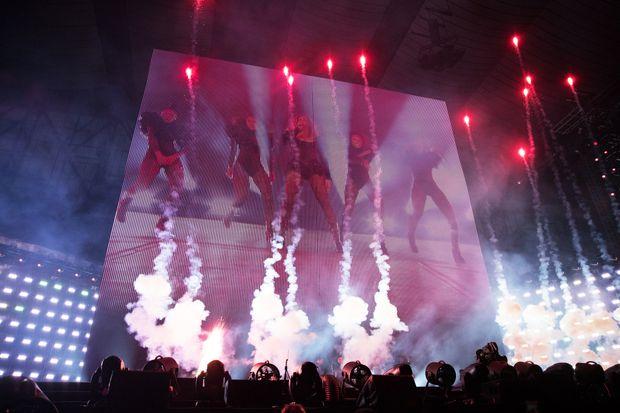 Pyrotechnics Beyonce Pyro