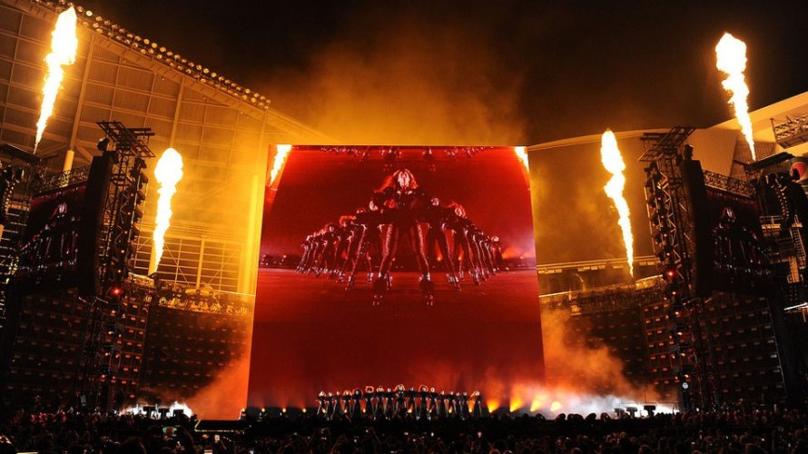 Pyrotechnics Flame Beyonce Pyro